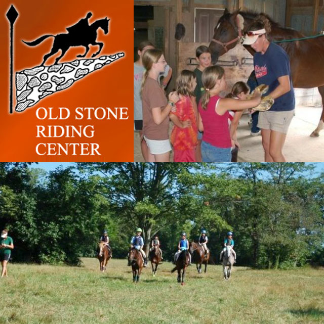 Old stone riding center summer camp the mcguffey for Camp stone