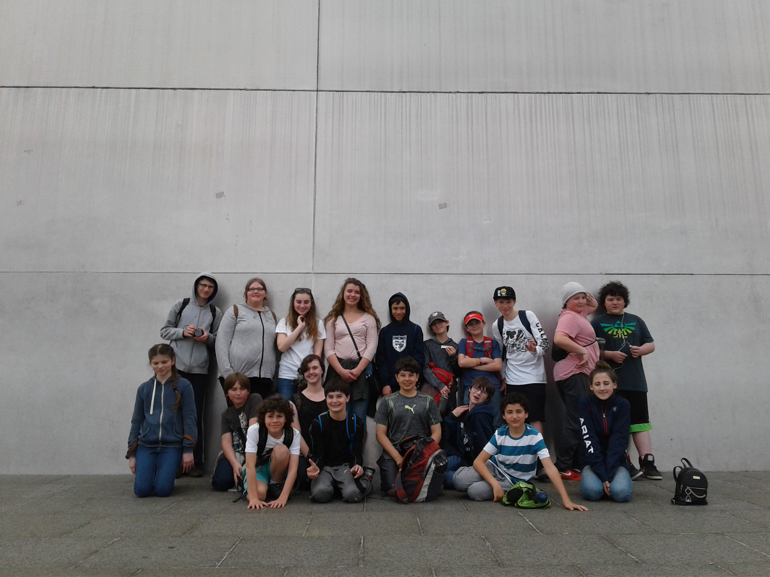 Middle School Students On The Road The Mcguffey